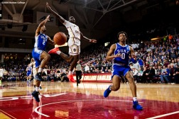 February 4, 2020, Chestnut Hill, MA: Game action during a game between Boston College and Duke University at Conte Forum at Boston College in Chestnut Hill, Massachusetts Tuesday, February 4, 2020. (Photo by Billie Weiss/Boston College)