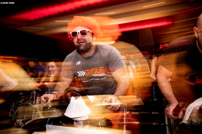 February 7, 2020, Boston, MA: The 2020 Cycle For Survival is held at Equinox in Boston, Massachusetts Friday, February 7, 2020. (Photo by Billie Weiss/Drawbridge Digital)