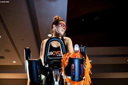 February 8, 2020, Boston, MA: The 2020 Cycle For Survival is held at Equinox in Boston, Massachusetts Saturday, February 8, 2020. (Photo by Billie Weiss/Drawbridge Digital)