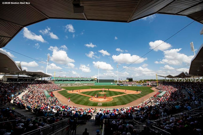 FT. MYERS, FL - MARCH 10: A general view during a Grapefruit League game between the Boston Red Sox and the St. Louis Cardinals on March 10, 2020 at jetBlue Park at Fenway South in Fort Myers, Florida. (Photo by Billie Weiss/Boston Red Sox/Getty Images) *** Local Caption ***